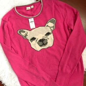 [GAP] Pink Frenchie Sweater